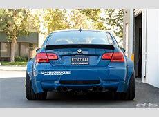 Laguna Seca Blue BMW M3 Gets an Awron Gauge at EAS