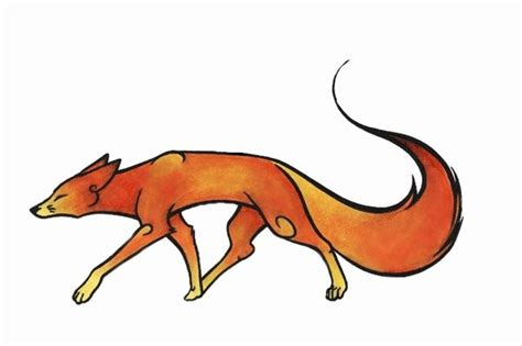 japanese copic fox  frenchtrotter  deviantart