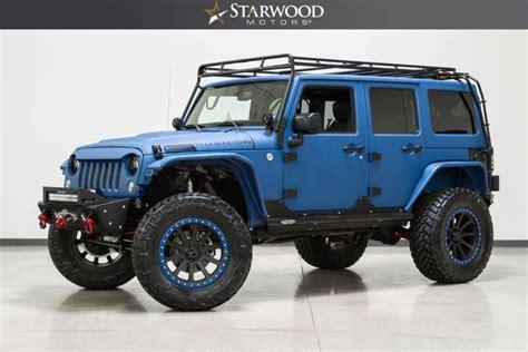 starwood jeep blue starwood motors 2015 jeep wrangler unlimited rubicon