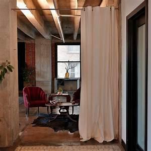 Rideau Séparateur De Pièce : roomdividersnow muslin room divider curtains roomdividersnow ~ Teatrodelosmanantiales.com Idées de Décoration