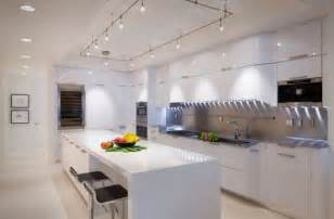 Lights Above Kitchen Island Gorgeous Track Lighting Ideas For The Contemporary Home