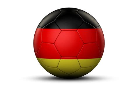 However, the surprise and apprehension for public use of the flag declined after germany won the football world cup in 2014. Flag Of Germany On Soccer Ball Digital Art by Bjorn Holland