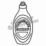 Syrup Chocolate Clip Clipart Coloring Pages Abcteach Template 20clipart Bw sketch template