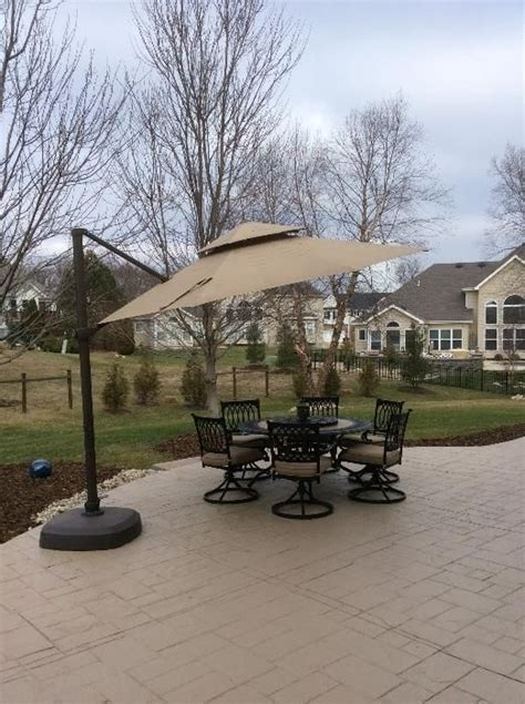 found on estatesales net this high end patio table and