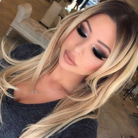 Blonde Hair Black Roots 1000 Ideas About Dark Roots On Pinterest Dark Roots