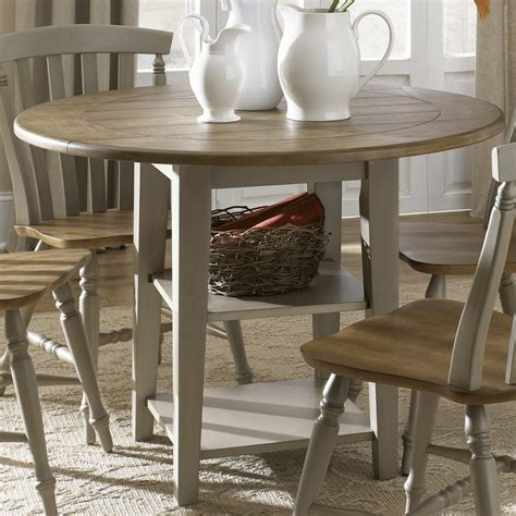driftwood round dining table shop liberty furniture al fresco driftwood wood round