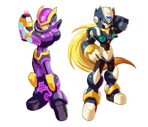 Megaman X9 Ultimate Armor And ??? By Ultimatemaverickx On