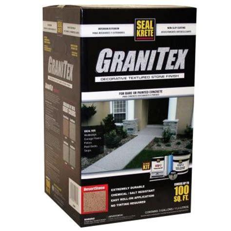 seal krete 3 gal granitex kit desertstone 251003 the