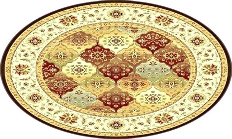 Small Round Area Rugs Circular For Sale