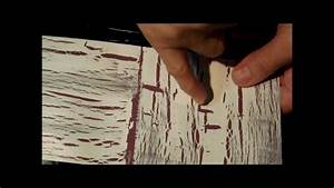 Crackle Paint Demo For Card Making YouTube