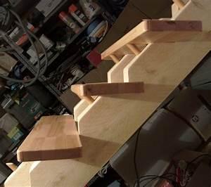 fabriquer escalier bois exterieur 1 finitions escalier With fabriquer escalier exterieur bois