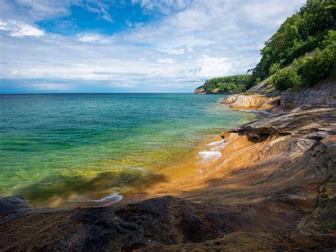 usa coast miners beach michigan nature