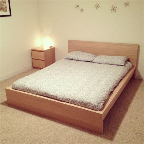 king size headboard ikea uk ikea malm bed with side dresser for the home
