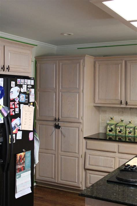 cabinet bleached oak kitchen 2017 with cabinets picture