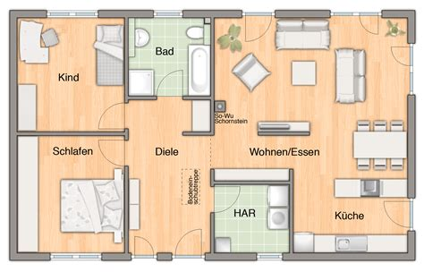100 Qm Haus by Haus Bungalow 100 Hausbau24