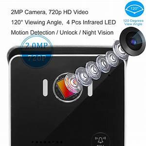 2020 Hd 720p Smart Video Doorbell Ip55 Wireless Remote