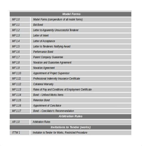construction budget templates  sample