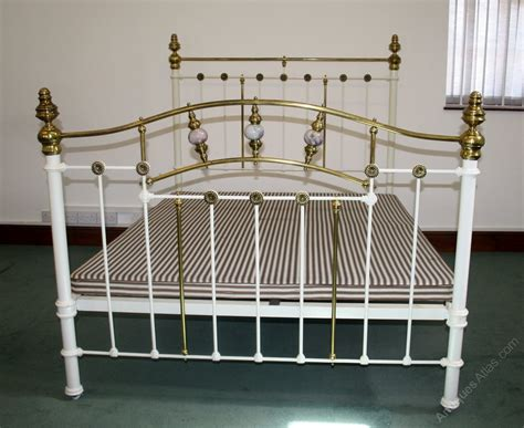 Brass Headboards For King Size Beds by Quality King Size Brass And Iron Bed Antiques Atlas