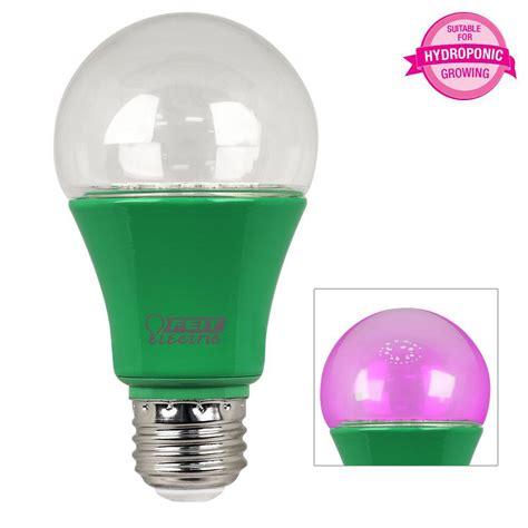 spectrum light home depot feit electric 60w equivalent a19 spectrum led plant