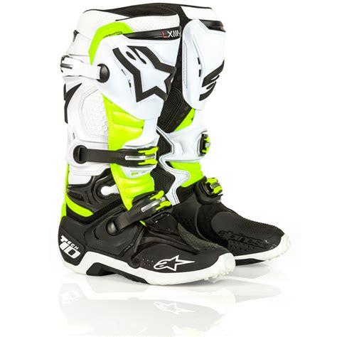 black friday motocross gear alpinestars tech 10 daytona d71 special edition boots