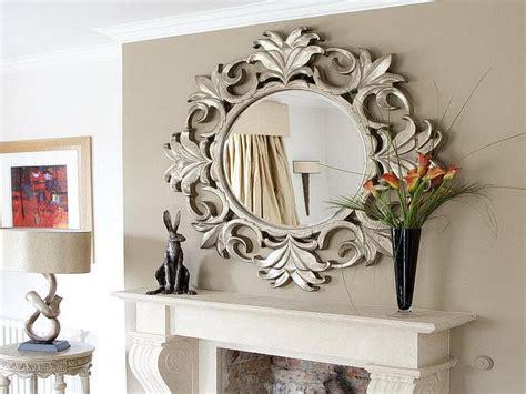 decorative mirrors  living room interior design inspirations
