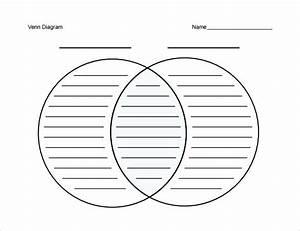 Fillable Venn Diagram Template  U2013 Yakult Co