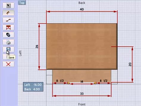 Create Shop Drawings In Sketchlist 3d Woodworking Design