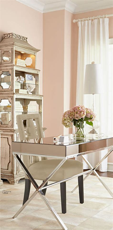 bureau decor feminine office furniture fancy fabulous feminine office