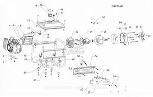 Powermate Formerly Coleman Pm0101400 Parts Diagram For