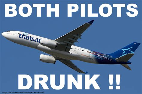 air transat two pilots arrested in scotland for being