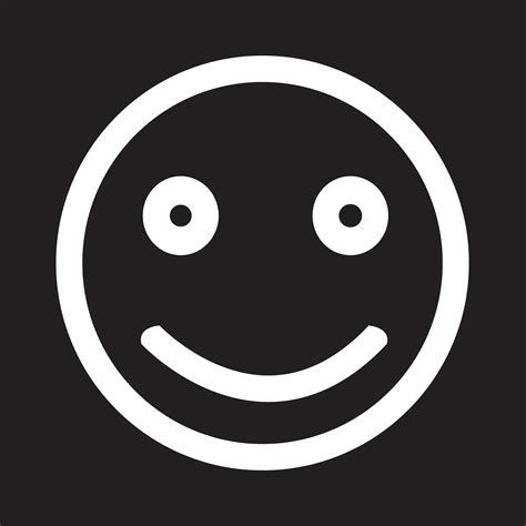 Smile Icon symbol sign 649125 Vector Art at Vecteezy