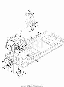 Troy Bilt 17afcacp211 Mustang 50 Xp  2013  Parts Diagram