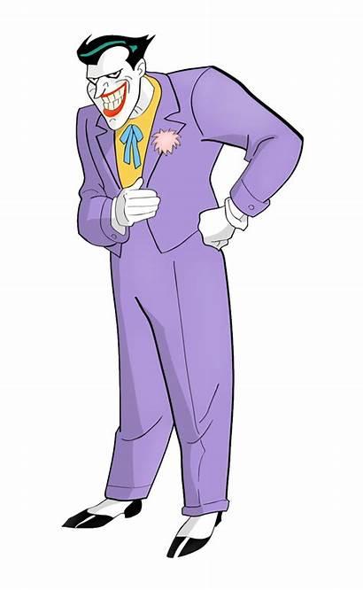 Joker Batman Animated Dc Villains Comics Transparent