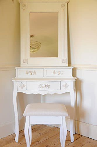 shabby chic dressing tables uk paris shabby chic french style dressing table with mirror and stool ivory colour finish