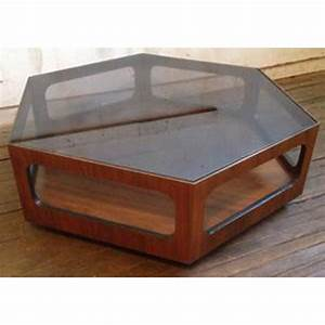 Uncategorized 70 stunning design hexagonal coffee table for Hexagon coffee table glass