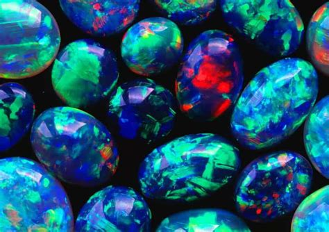 Australian Black Opal Direct From Lighting Ridge