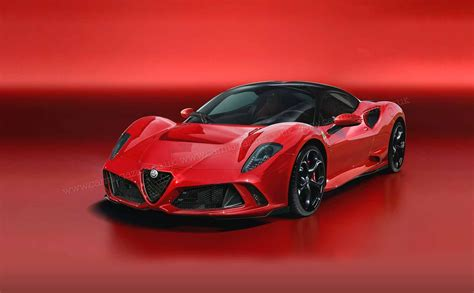 Alfa Romeo Car : 8c New Coupe And Spider