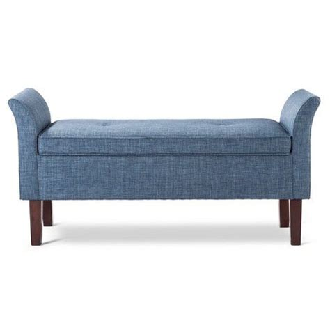 Bed Settee With Storage by Storage Settee Bench Indigo Threshold In 2019 My