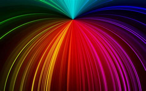 Download Wallpaper 2560x1600 Rays Glitter Multicolored