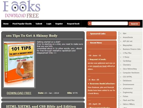 Top 10 Free Ebook Download Sites To Download Free Ebook