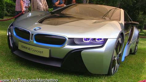 Bmw I8 Concept Vision Efficient Dynamics Youtube