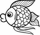 Fish Coloring Pages Pdf Printable Cartoon Print Getcolorings Fresh sketch template
