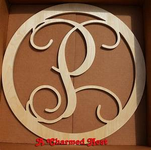 best 25 wooden monogram letters ideas on pinterest With wooden initial letters for door