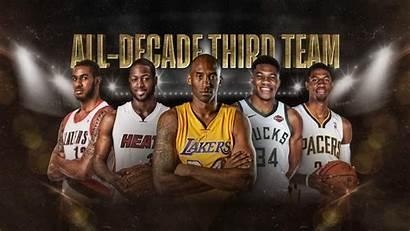 Nba Kobe Bryant Decade Lakers Lebron Team