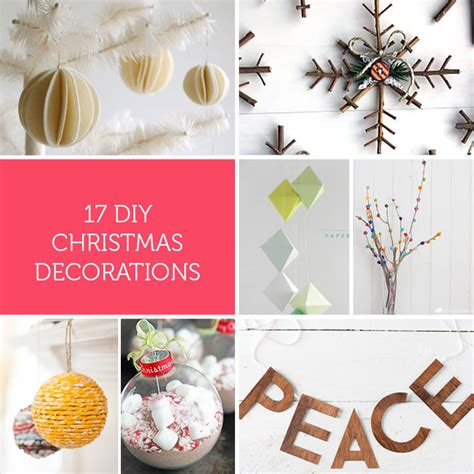 quick  easy diy christmas decorations    kids