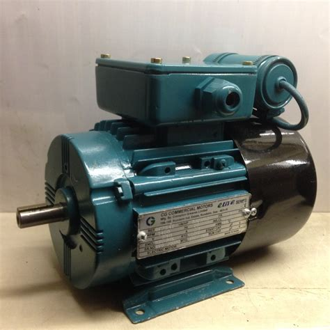 Electric Motors Uk by 1ph Cg Electric Motor 1 5kw 4pole Permanent Capacitor