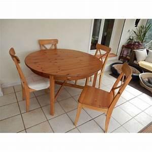 Table Ronde Ikea : table ronde ikea achat et vente neuf d 39 occasion sur ~ Melissatoandfro.com Idées de Décoration