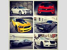 All American supercar collage which would you take