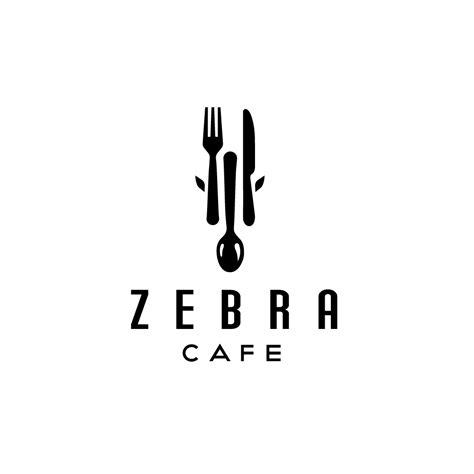 fork knife spoon zebra cafe logos cowboy sold designed