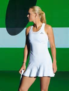 Caroline Wozniacki models new adidas by Stella McCartney range | Daily Mail Online